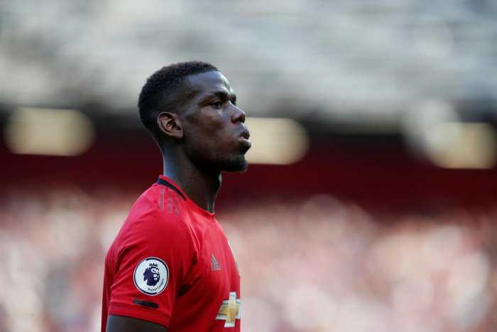 Pogba was the target of racial slurs on Twitter when his penalty was saved by Wolves goalkeeper Rui Patricio in Monday's 1-1 draw. (Reuters photo)