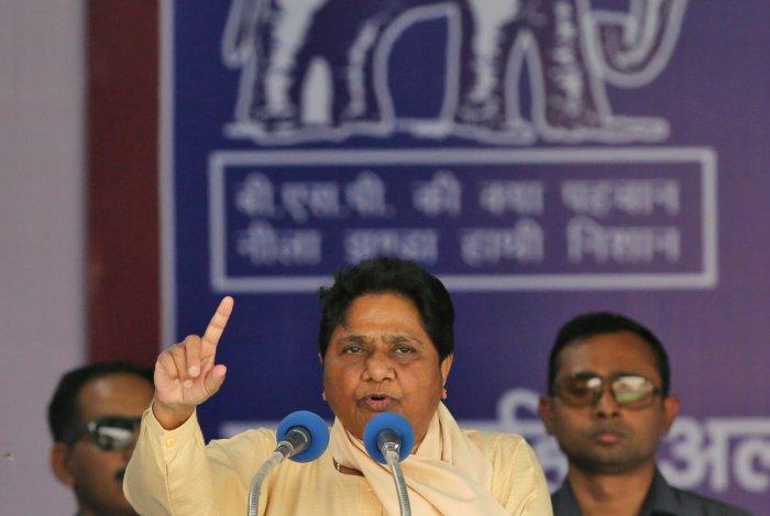 Bahujan Samaj Party (BSP) Chief Mayawati. (Reuters Photo)