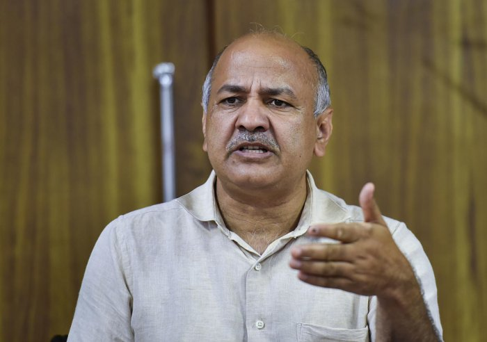 New Delhi: Delhi Deputy Chief Minister Manish Sisodia. (PTI Photo)