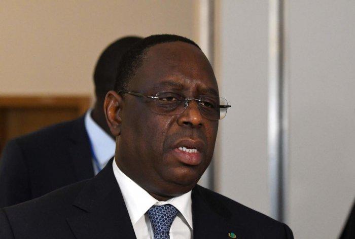 Senegalese President Macky Sall. (AFP Photo)