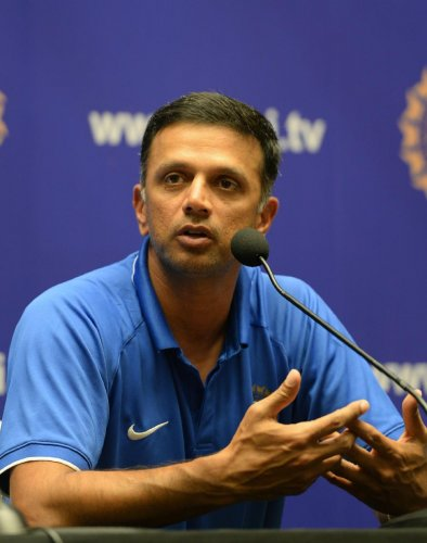 Dravid is allegedly conflicted as he is the NCA Director and also employed as vice-president of India Cements group (AFP File Photo)