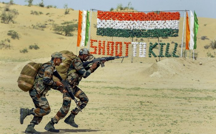 India and Pakistan will be part of a mega military drill along with China and five other countries in Russia. (PTI Photo)