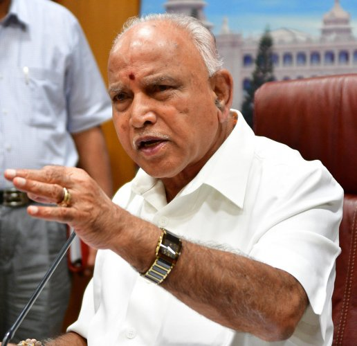 Speculation is rife that Chief Minister B S Yediyurappa might get as many as three deputies. (DH File Photo)
