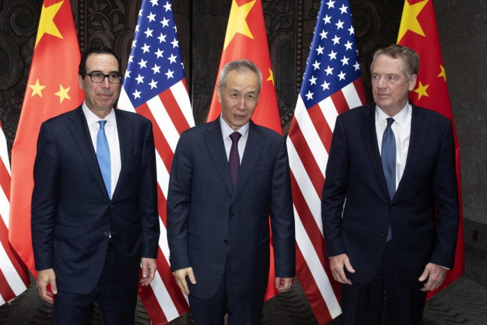 The increasingly bitter trade war between the world's two largest economies sharply escalated on Friday, with both sides levelling more tariffs on each other's exports. AFP file photo
