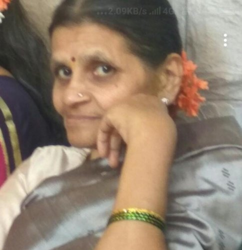 Swarna Murthy, the techie's mother