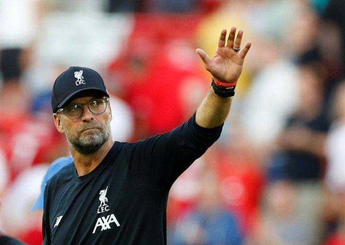 Klopp lead Liverpool to the Champions League title last season while they agonisingly lost out on the league title to Manchester City on the last day (Reuters Photo)