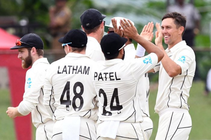 Sri Lanka were rattled by the Kiwi bowlers, led by Trent Boult (AFP Photo)