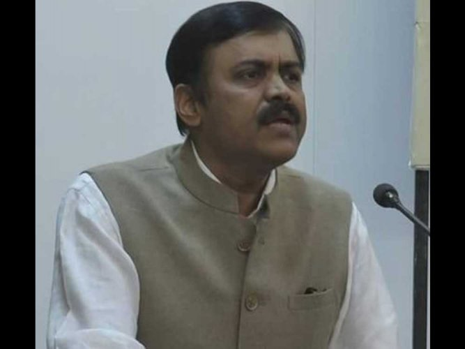 """""""Rahul Gandhi is obsessed with stealing. That is where his expertise lies and this was visible during the tenure of the Congress-led UPA government. Therefore many Congress leaders are mired in corruption scandals and the Congress has become synonymous with corruption,"""" BJP spokesperson GVL Narasimha Rao said. (File Photo)"""