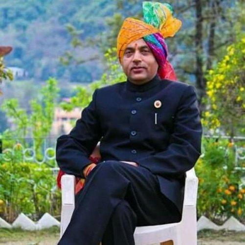 Chief Minister Jai Ram Thakur