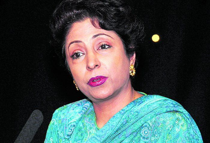 Pakistan's Permanent Representative to the United Nations Maleeha Lodhi. File photo