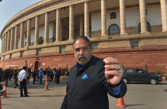 Congress leaders Anand Sharma. (PTI Photo)