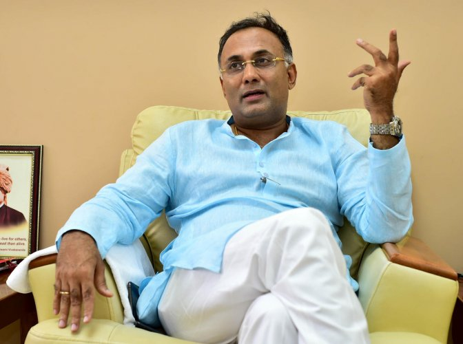 """The soon this government goes, that much good it is for the state,"""" KPCC President Dinesh Gundu Rao said."""