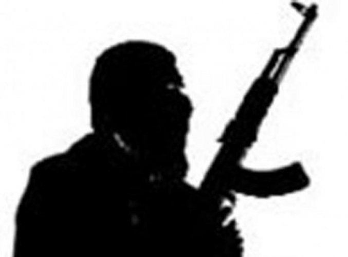 An AK 47 Rifle and a pistol were recovered from terrorist's possession. File photo for representation