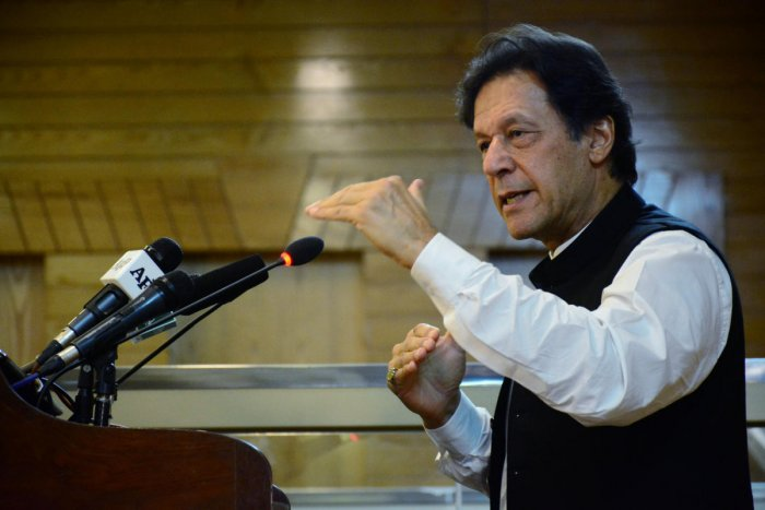 Pakistani Prime Minister Imran Khan. (Reuters Photo)