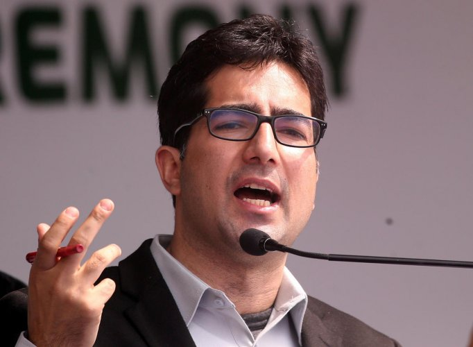 Bureaucrat-turned-politician Shah Faesal. Reuters file photo