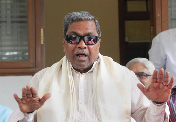 Senior Congress leader Siddaramaiah. PTI file photo