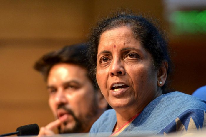 Finance minister Nirmala Sitharaman (AFP Photo)