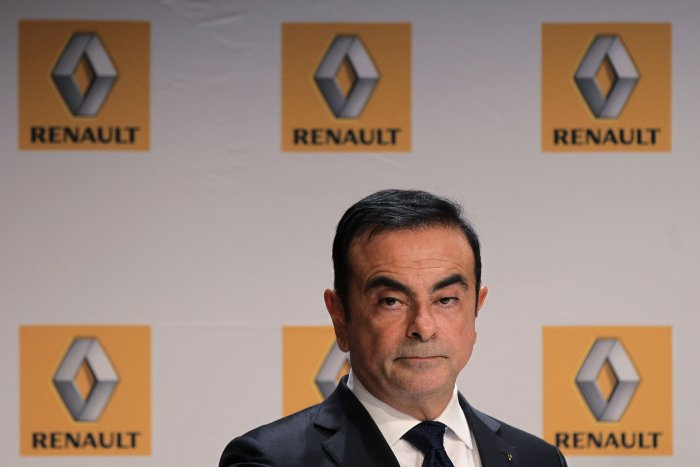 French Renault car maker CEO Carlos Ghosn. (AFP Photo)
