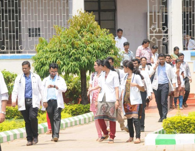 The establishment of these medical colleges will add at least 15,700 MBBS seats in the country. (DH File Photo)