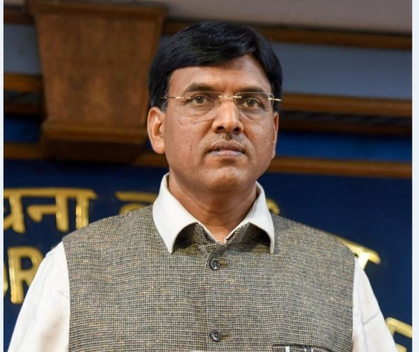 Minister of State for Shipping Mansukh Mandaviya. (File Photo)