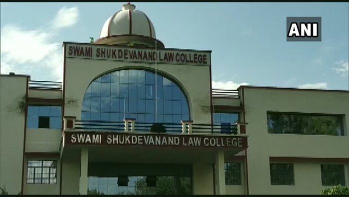 According to the sources SwamiChinmayanandwas the president of the managing committee of the college. (ANI photo)