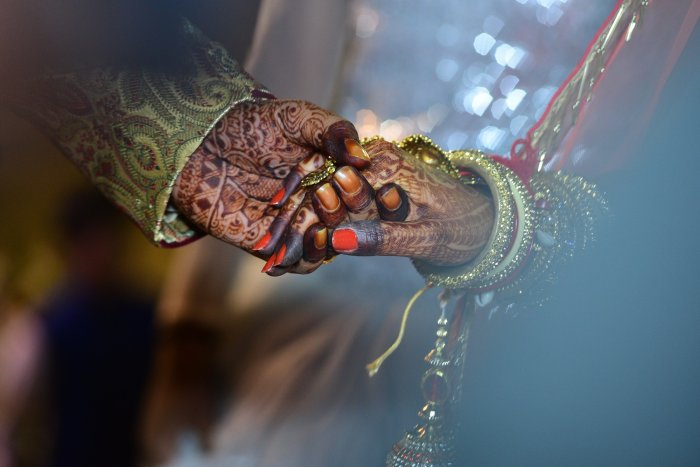 A teenage Hindu girl marrying a Muslim man one-and-half times her age in Haryana. (File Photo)