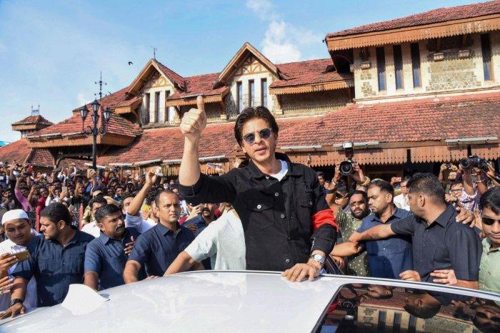 Mumbai: Bollywood actor Shah Rukh Khan. (PTI Photo)