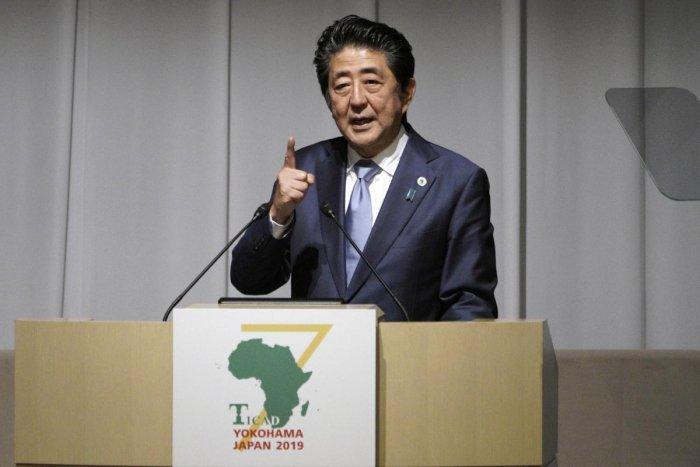 Japanese Prime Minister Shinzo Abe. (PTI Photo)
