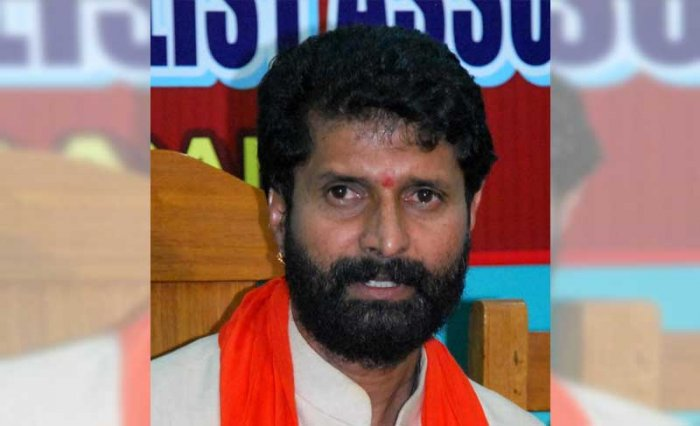 Kannada and Culture Minister C T Ravi. (DH File Photo)
