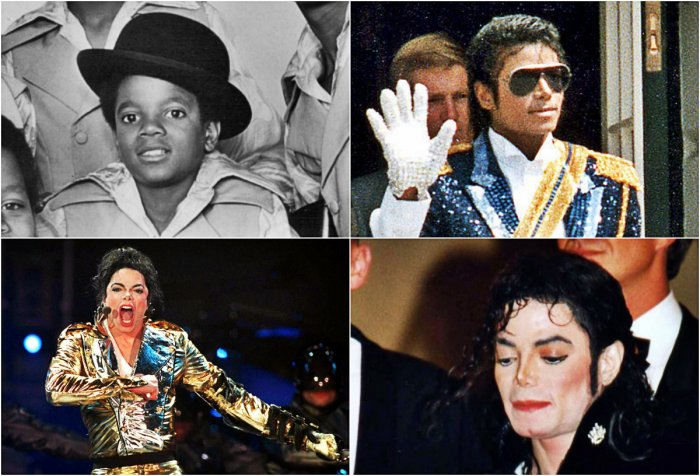 From the kid in Jackson 5 to the King of Pop - Michael Jackson.