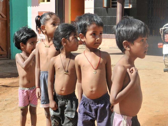 Micronutrient malnutrition refers to nutritional deficiencies arising due to lack of adequate vitamin and minerals in diets, which have an impact on the growth and cognitive development, especially among children. (DH file photo)