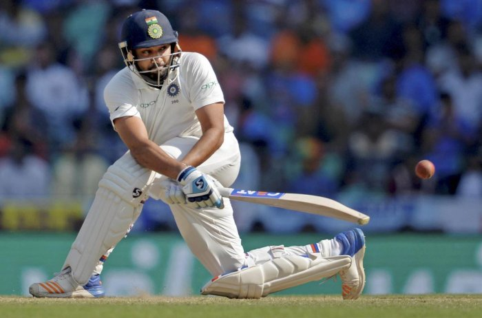 Rohit Sharma has never quite justified his place in the Test XI despite essentially being a modern-day legend in limited-overs cricket (PTI File Photo)
