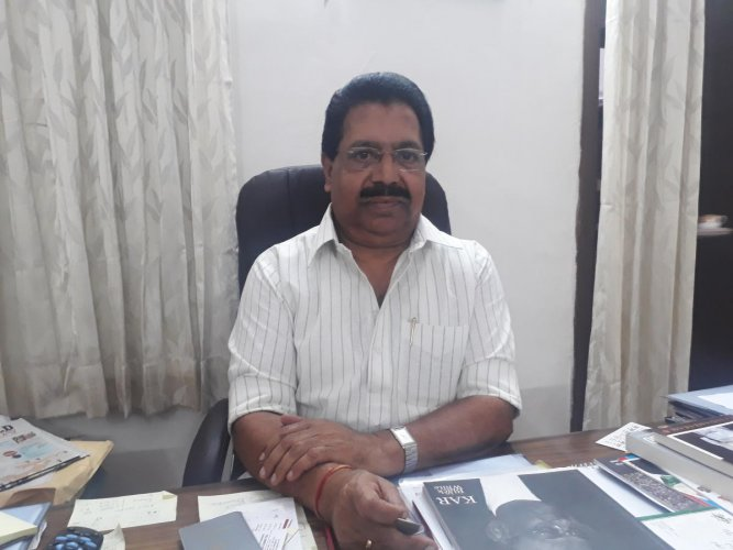 P C Chacko. File photo