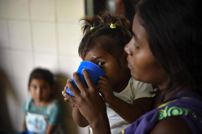 The hunger situation is getting more dire by the year, the UN reported (AFP File Photo)