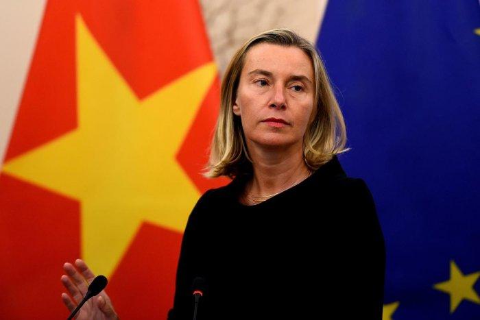 Federica Mogherini. (AFP)