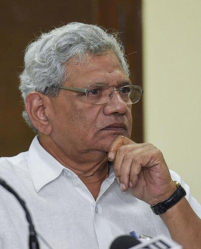 CPI(M) general secretary Sitaram Yechury. PTI file photo