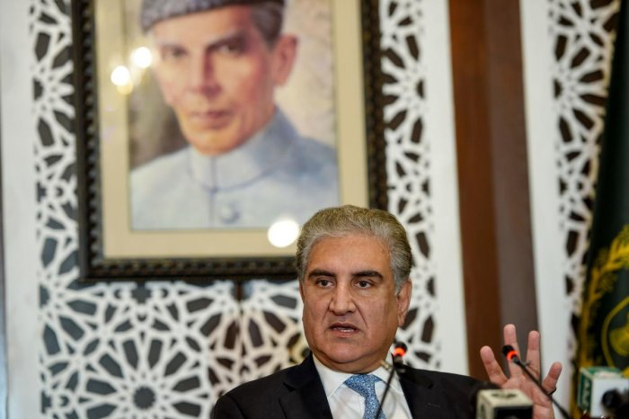 Pakistan Foreign Minister Shah Mehmood Qureshi. (AFP File Photo)