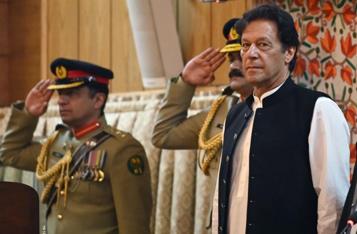 The call to join protests repeated earlier demands from Imran Khan for Pakistanis to begin holding weekly nationwide rallies (AFP File Photo)