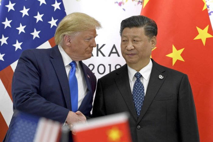 Last week China and the US exchanged the latest blows in the year-long trade dispute, with Beijing announcing it would hit $75 billion worth of US goods in retaliation for Washington taking aim at about $300 million of its goods (AP/PTI File Photo)