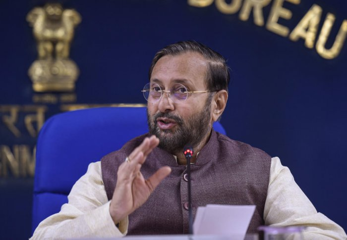 Union Minister of Environment, Forest and Climate Change Prakash Javadekar. (PTI)