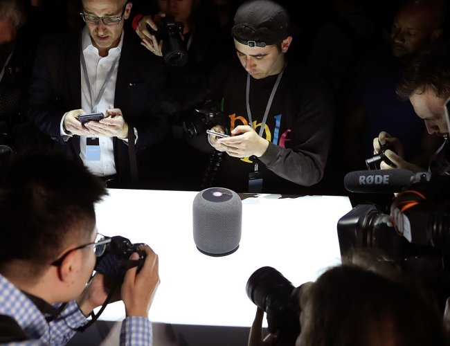 Apple on August 28, 2019, apologized for its digital assistant Siri sharing some of what it heard with quality control workers as it unveiled new rules for handling data from conversations. (AFP File Photo)