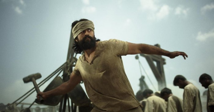 KGF 2: Green case and after | Deccan Herald