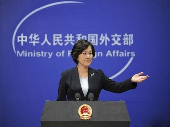 "Chinese foreign ministry spokeswoman Hua Chunying rejected the allegations at the time the report was published, saying, ""I don't know where these journalists go to dig up this dirt."" (Image courtesy Twitter)"