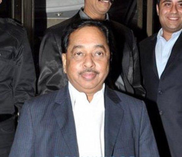 Former Chief Minister Narayan Rane. File photo