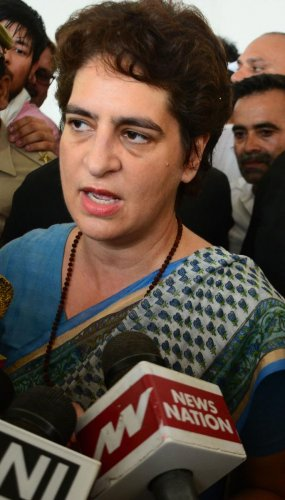 Congress General Secretary Priyanka Gandhi Vadra. (PTI Photo)