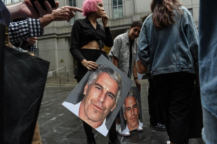 At an unusual hearing earlier this week, women detailed how US financier Epstein abused them using his financial power and connections to famous people to make them vulnerable. Getty Images/AFP