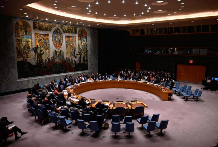 """Somalia recently told the Security Council that taking actions that could interrupt aid would """"play into the Shabaab's narrative and self-image as a de-facto government in areas where state reach is limited."""" Photo/AFP"""