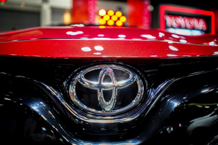 Japan's Toyota will not build cars at its British factory. (Reuters Photo)