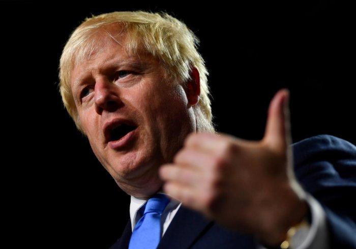Britain's Prime Minister Boris Johnson. (Reuters Photo)