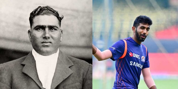 India's wait for for sustained, express speed has been long since the days of Mohammad Nissar (L). Photos: Wikipedia/DH